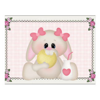 Cookie Bunny Sweet Treat Postcard