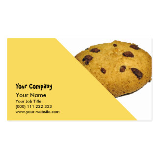 Cookie Business Card Templates
