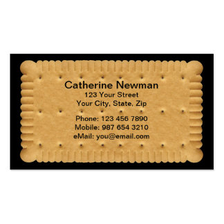 Cookie Businesscard Pack Of Standard Business Cards