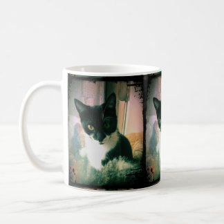 Cookie Cat Vintage Style Coffee Mug