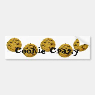 Cookie Crazy Bumper Sticker