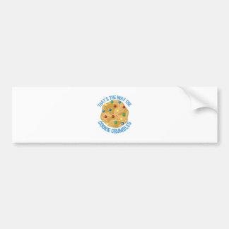 Cookie Crumbles Bumper Sticker