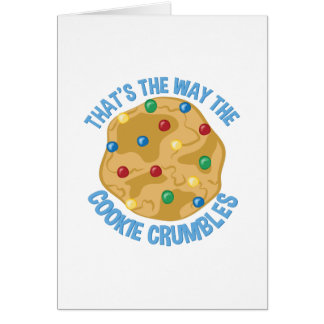 Cookie Crumbles Card