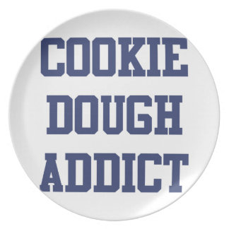 Cookie Dough Addict Plate