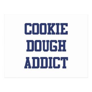 Cookie Dough Addict Postcard