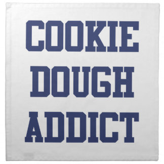 Cookie Dough Addict Printed Napkins