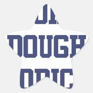 Cookie Dough Addict Star Sticker
