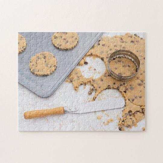 Cookie dough jigsaw puzzle