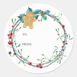 Cookie Exchange Christmas Sticker