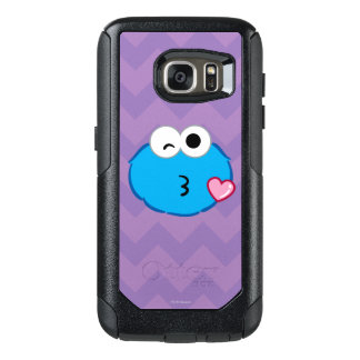 Cookie Face Throwing a Kiss OtterBox Samsung Galaxy S7 Case