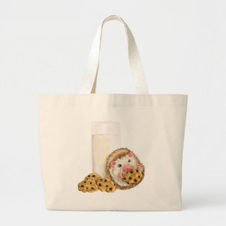 Cookie Hog Large Tote Bag