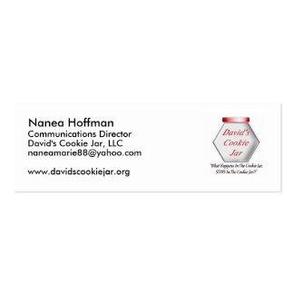 Cookie Jar Profile Card Mini Business Card