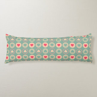 Cookie Love Retro Pattern Body Pillow