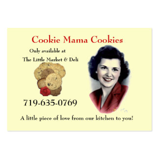 Cookie Mama Cookies Large Business Card