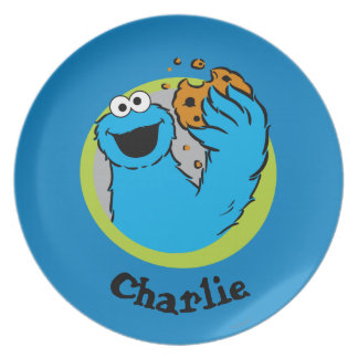 Cookie Monster  | Add Your Name Plate
