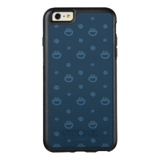 Cookie Monster and Cookies Blue Navy Pattern OtterBox iPhone 6/6s Plus Case