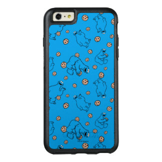 Cookie Monster and Cookies Blue Pattern OtterBox iPhone 6/6s Plus Case