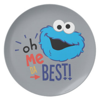 Cookie Monster Best Plate