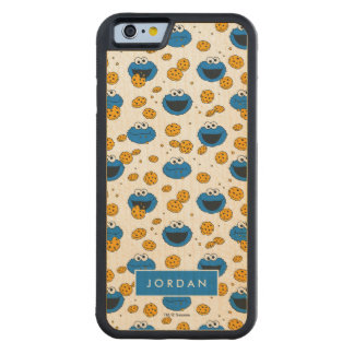 Cookie Monster | C is for Cookie Pattern Carved Maple iPhone 6 Bumper Case