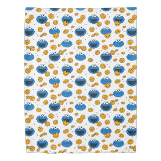 Cookie Monster | C is for Cookie Pattern Duvet Cover
