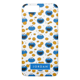 Cookie Monster | C is for Cookie Pattern iPhone 8 Plus/7 Plus Case