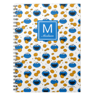 Cookie Monster | C is for Cookie Pattern Notebook
