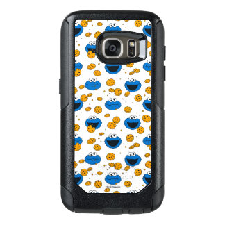 Cookie Monster | C is for Cookie Pattern OtterBox Samsung Galaxy S7 Case