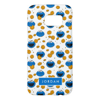 Cookie Monster | C is for Cookie Pattern Samsung Galaxy S7 Case
