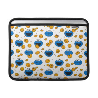 Cookie Monster | C is for Cookie Pattern Sleeve For MacBook Air