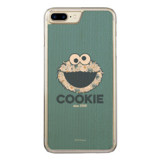 Cookie Monster | Cookie Since 1969 Carved iPhone 7 Plus Case