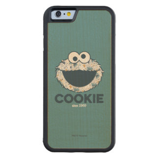 Cookie Monster | Cookie Since 1969 Carved Maple iPhone 6 Bumper Case