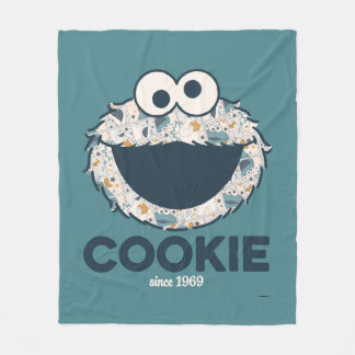Cookie Monster | Cookie Since 1969 Fleece Blanket