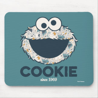Cookie Monster | Cookie Since 1969 Mouse Pad