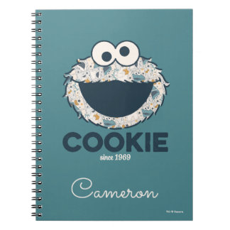 Cookie Monster | Cookie Since 1969 Note Books