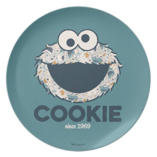 Cookie Monster | Cookie Since 1969 Plate