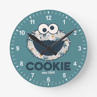Cookie Monster | Cookie Since 1969 Round Clock