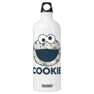 Cookie Monster | Cookie Since 1969 Water Bottle