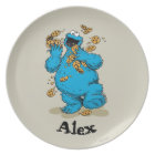 Cookie Monster Crazy Cookies | Add Your Name Plate