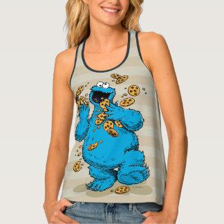 Cookie Monster Crazy Cookies Tank Top
