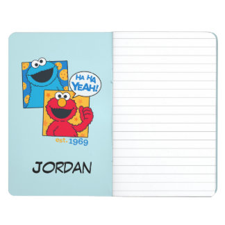 Cookie Monster & Elmo | Ha Ha Yeah | Add Your Name Journal