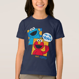 Cookie Monster & Elmo | Ha Ha Yeah T-Shirt