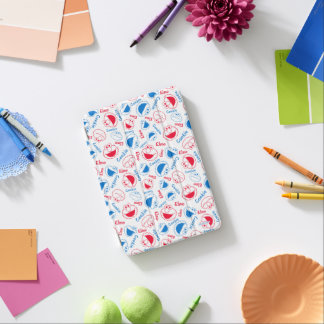 Cookie Monster & Elmo   Red & Blue Pattern iPad Mini Cover