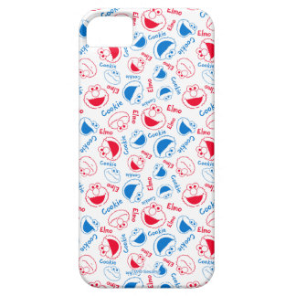 Cookie Monster & Elmo | Red & Blue Pattern iPhone 5 Covers