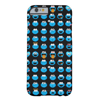 Cookie Monster Emoji Pattern Barely There iPhone 6 Case