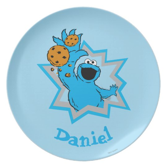 Cookie Monster Extreme | Add Your Name Plate