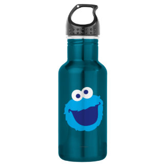 Cookie Monster Face 532 Ml Water Bottle