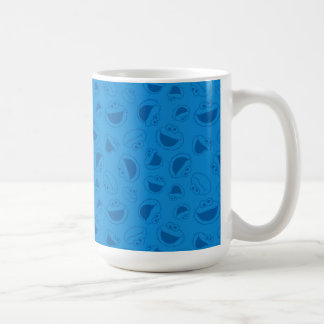 Cookie Monster | Me Awesome Blue Pattern Coffee Mug