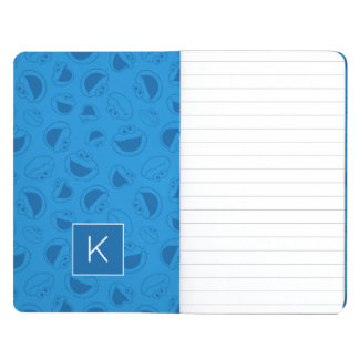 Cookie Monster | Me Awesome Blue Pattern | Monogra Journals