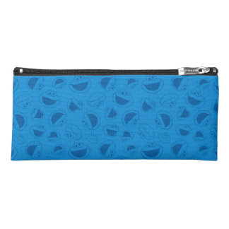 Cookie Monster | Me Awesome Blue Pattern Pencil Case