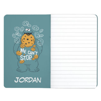 Cookie Monster - Me Can't Stop | Add Your Name Journal